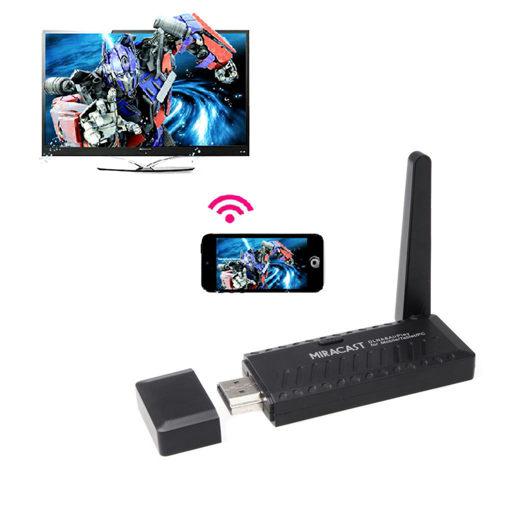 Adaptador Mirascreen Wifi - HDMI Ver Smartphone Na TV