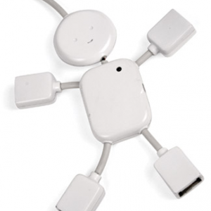 HUB USB High Speed 480Mbps 4 Portas