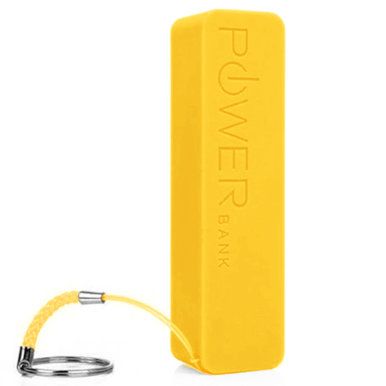 Bateria Externa - Power Bank 2600 mAh