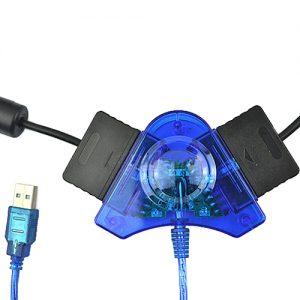 Adaptador Conversor Comando PS1 PS2 PC USB