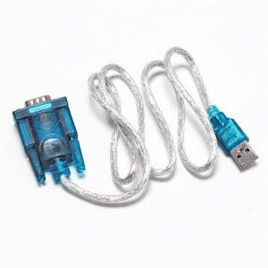 Cabo Adaptador USB - RS232 Porta Serial 9 Pinos