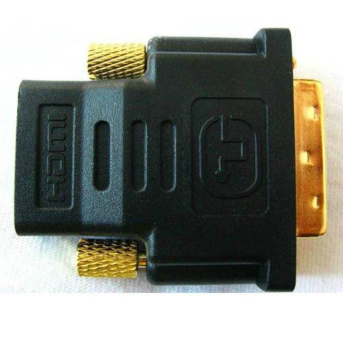 Ficha adaptador conversor DVI DVI-I HDMI TV PC Satélite