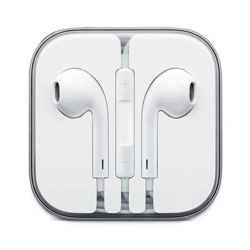 Fones Auriculares iPhone iPad iPod com Volume e Microfone