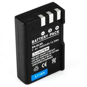 Bateria Nikon D60 D40 D700 D3000 D5000 EN-EL9 1800mAh