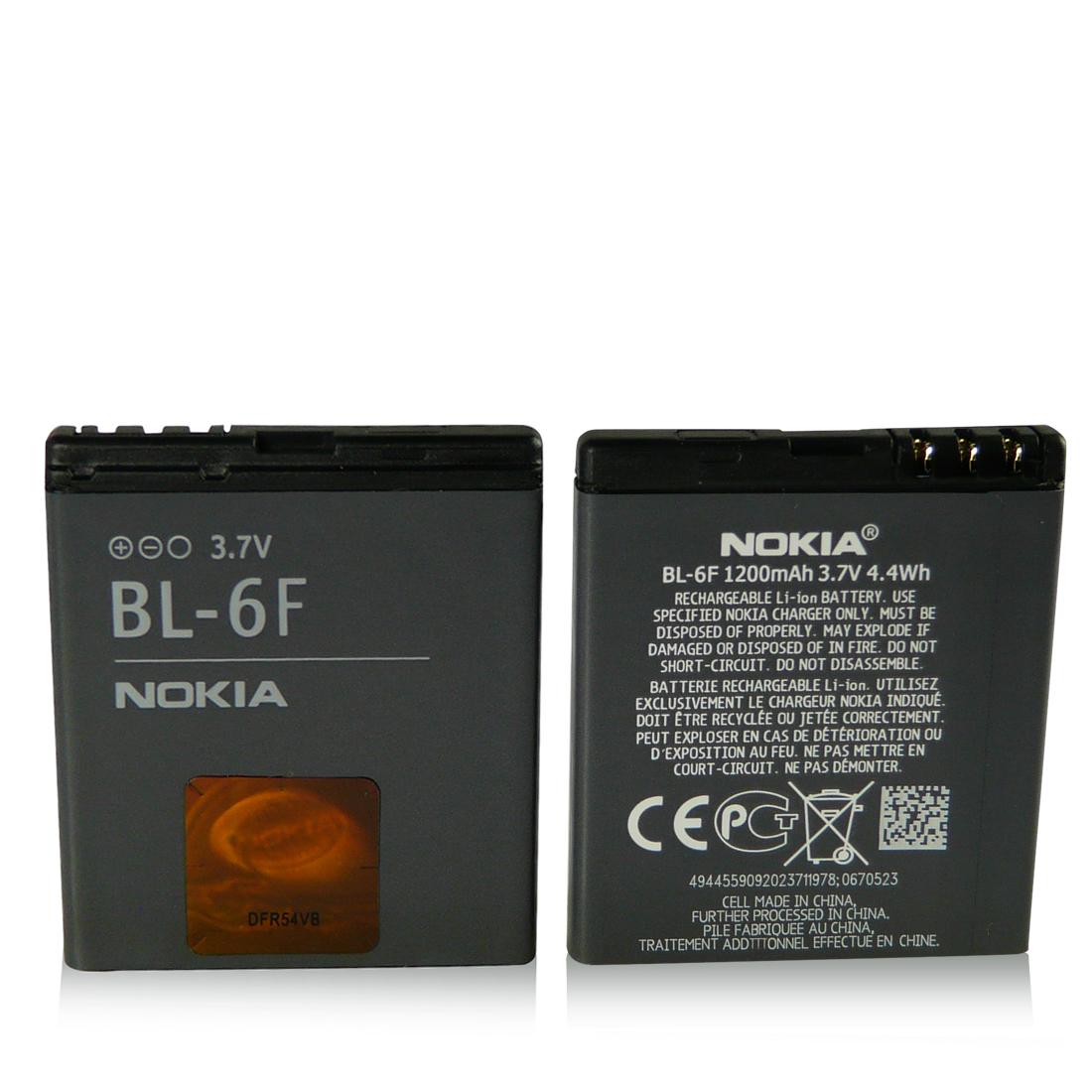Bateria BL-6F Original Nokia N78 N79 N93i N95 8GB N96