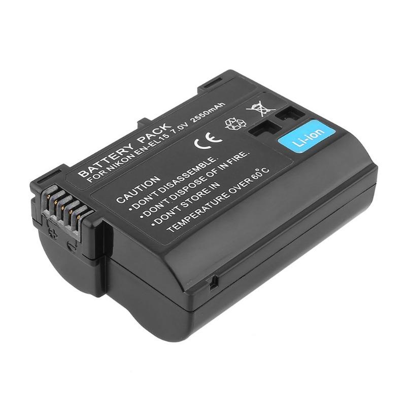 Bateria Nikon EN-EL15 2550mAh Nikon D7000 D800 D600