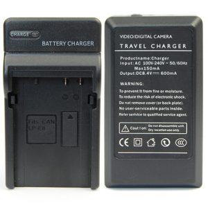 Carregador Duplo Bateria LP-E8 Canon EOS 550D 600D 650D