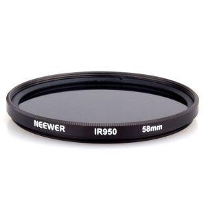 Filtro IR 950nm Infrared Infravermelho RaioX Ø 58mm