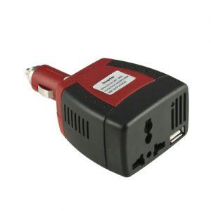 Inversor Conversor Corrente 12V DC 220V AC Max 150W