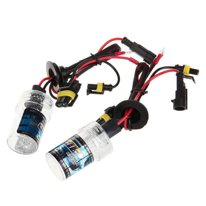 2x Lâmpada Xenon H7 HID 8000K 35W 12V