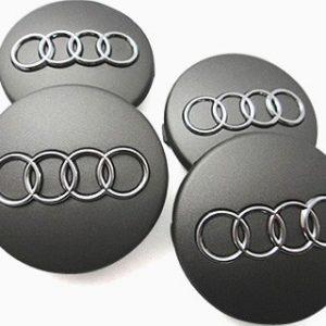 4 Centros Jante Audi 60mm A2 A3 A4 A6 A8 S4 TT S Line