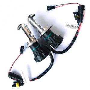 2x Lâmpadas H4 35W HI/LO Bi-Xenon HID 6000K