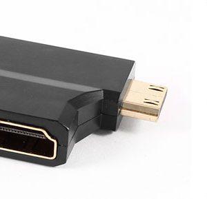 Adaptador 3 em 1 Splitter Divisor Micro - Mini - HDMI