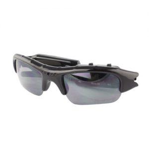 Óculos de Sol Espião HD Câmara Vídeo Oculta