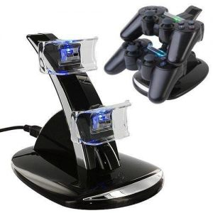 Dock Station Carregador Comandos Playstation 4