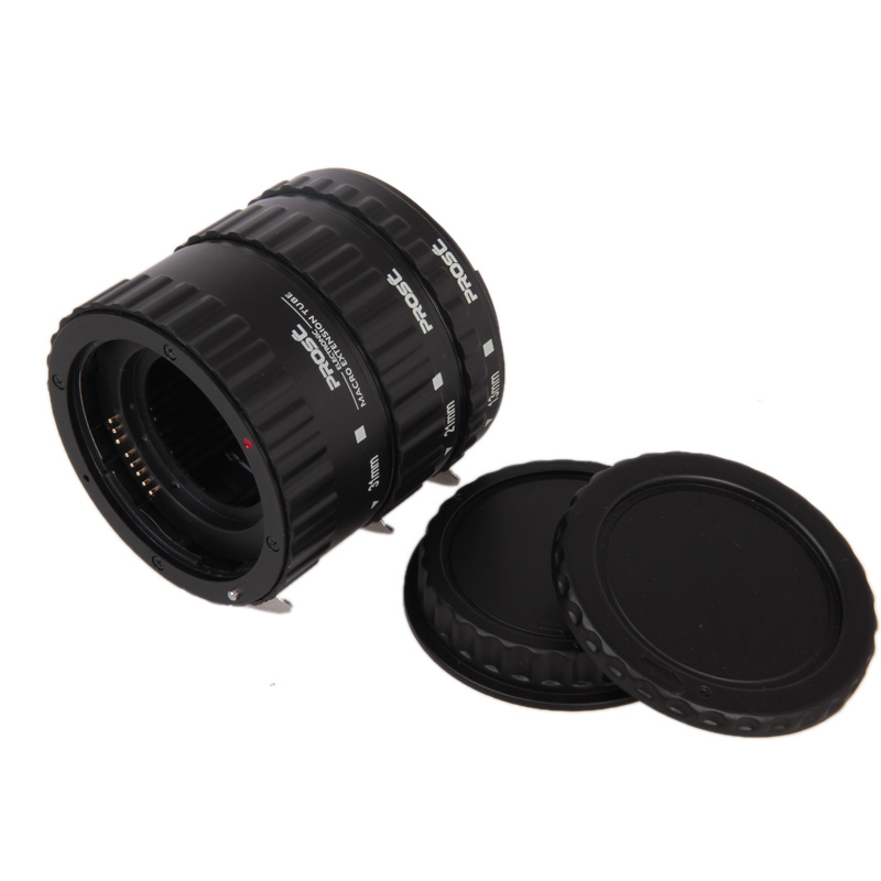 Tubos extensor Macro Auto focus AF Canon EOS EF e EF-S