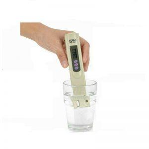 Teste Medidor Digital de TDS Pureza Água