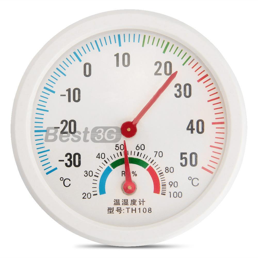 Medidor Temperatura Humidade Higrómetro Termómetro