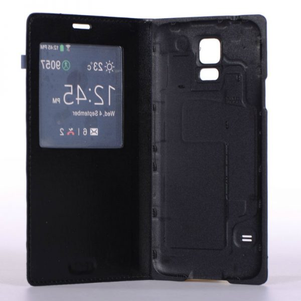 Capa Smart Cover Flip Pele Samsung Galaxy S5 SV i9600