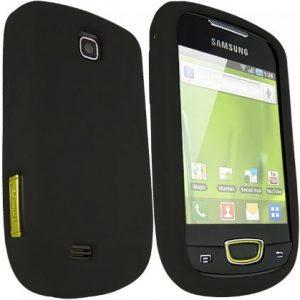 2x Capas Silicone Samsung Galaxy Mini S5570 Preta