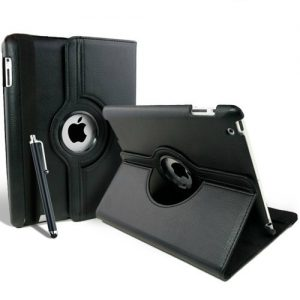 Smart Cover Case Capa Pele iPad 2 3 4 + Pen + Película