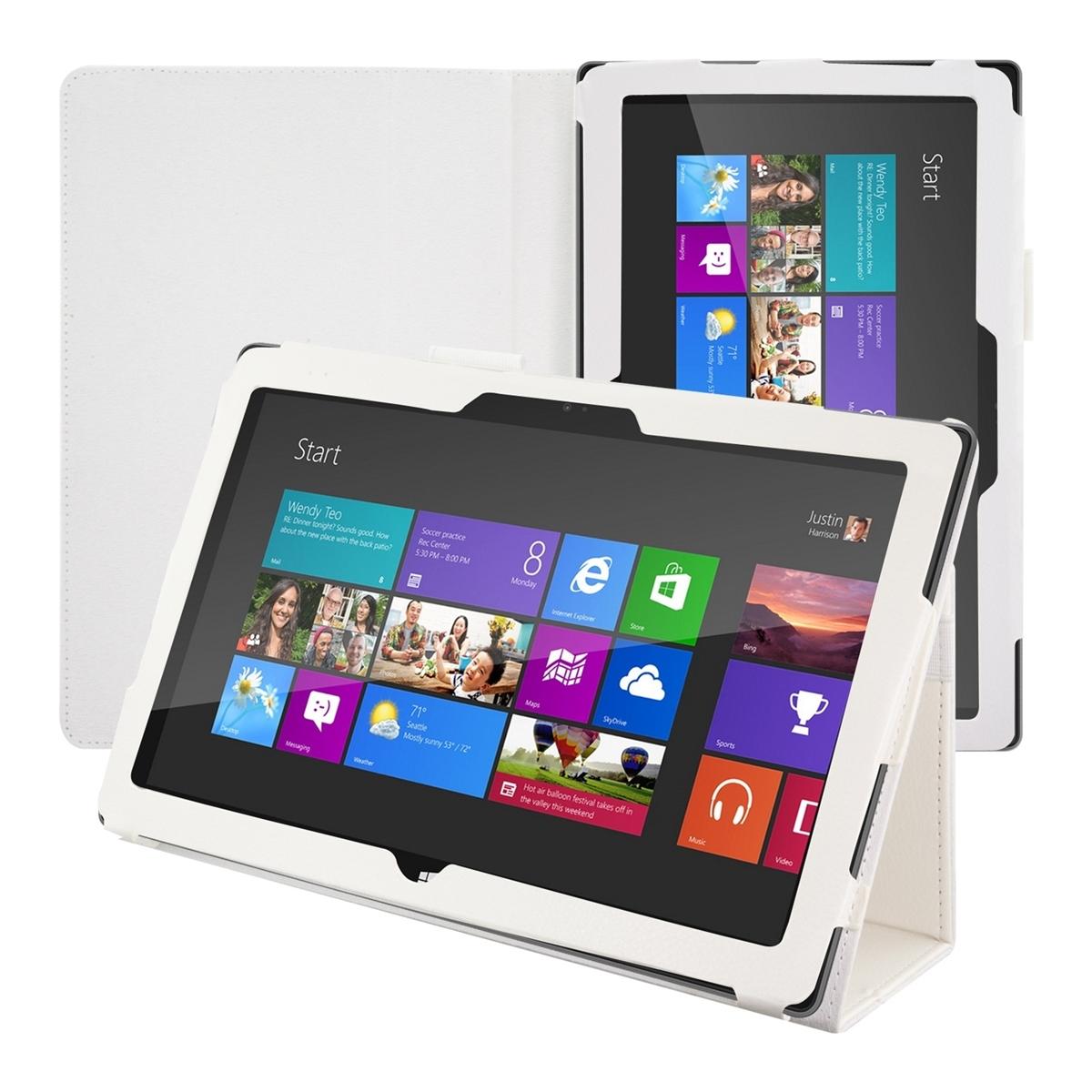 Capa Pele Branca Microsoft Surface Pro