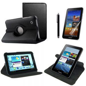 "Capa Pele 360º Samsung Galaxy Tab 2 7"""