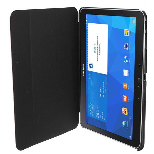 Capa Smart Cover Pele Samsung Galaxy Tab T530 T531 T535
