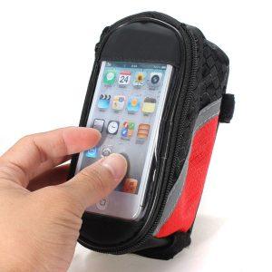 Bolsa Impermeável Quadro Bicicleta Telemovel GPS
