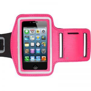 Braçadeira de Desporto Rosa iPhone 3 3GS 4 4S