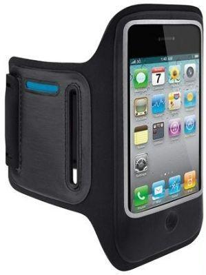 Braçadeira de Desporto Preta iPhone 3 3GS 4 4S