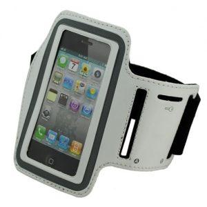 Braçadeira Desporto Branca iPhone 3G 3GS 4 4S