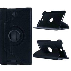 Capa Rotação 360º Pele Preta Acer Iconia Tab 8 W1-810