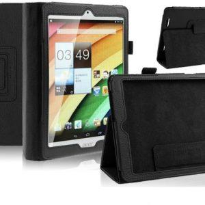 """Capa Smart Pele Preta para 7.9"""" Acer Iconia A1-830"""