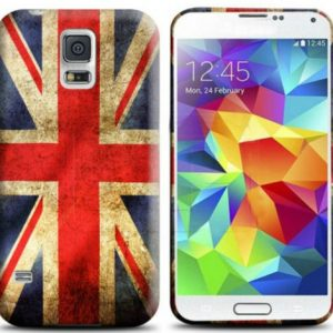 Capa Trendy British UK para Samsung Galaxy S5 Mini G800