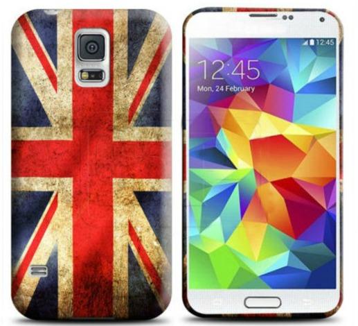 Capa Trendy British UK para Samsung Galaxy S5 Mini G800