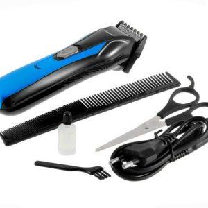 Máquina Cortar Cabelo Barba Profissional Recarregável