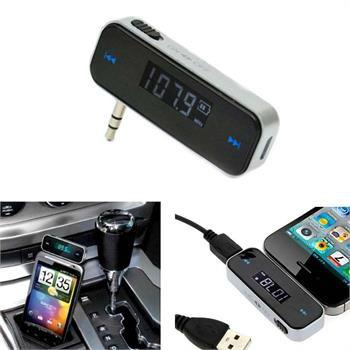 Leitor Transmissor FM Auto MP3 Adaptador Carro Telemóvel