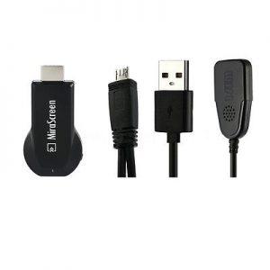 Adaptador Mirascreen Wifi-HDMI Ver Smartphone Na TV