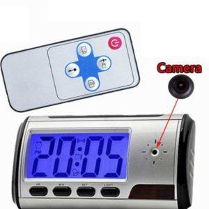 Relógio Despertador Espião SPY HD Câmara Oculta Alarme