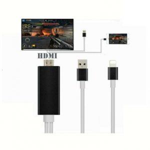 Cabo HDMI DE iPhone 5 5S 5C 6 6S Ipad 4 Air Mini para TV