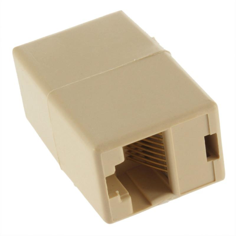 Tomada RJ45 Ligador Conector União Internet modem