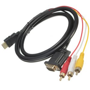 HD7 - HDMI para VGA HD15 3 RCA 1.5M