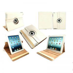 Smart Cover Capa Pele Ipad Air 2 iPad 6 Película Stylus