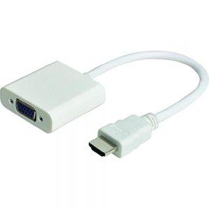 Cabo Adaptador Conversor HDMI - VGA HD DVD LCD PC