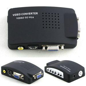 Conversor Universal Video para VGA / TV / RCA Envio