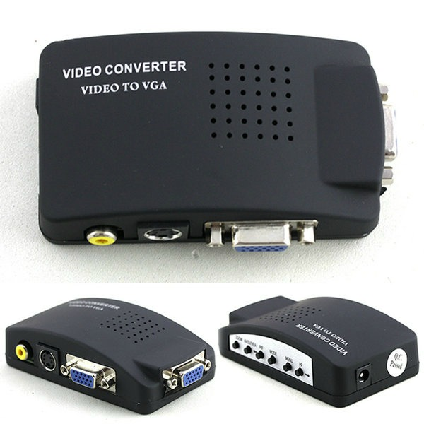 Conversor Universal Video para VGA / TV / RCA Envio