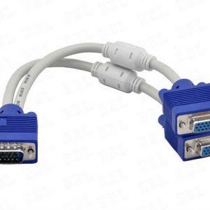 Cabo VGA Divisor / Splitter / Repatidor / Derivador