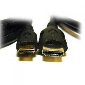 Cabo 2M HDMI - Mini HDMI C Ethernet 1080P