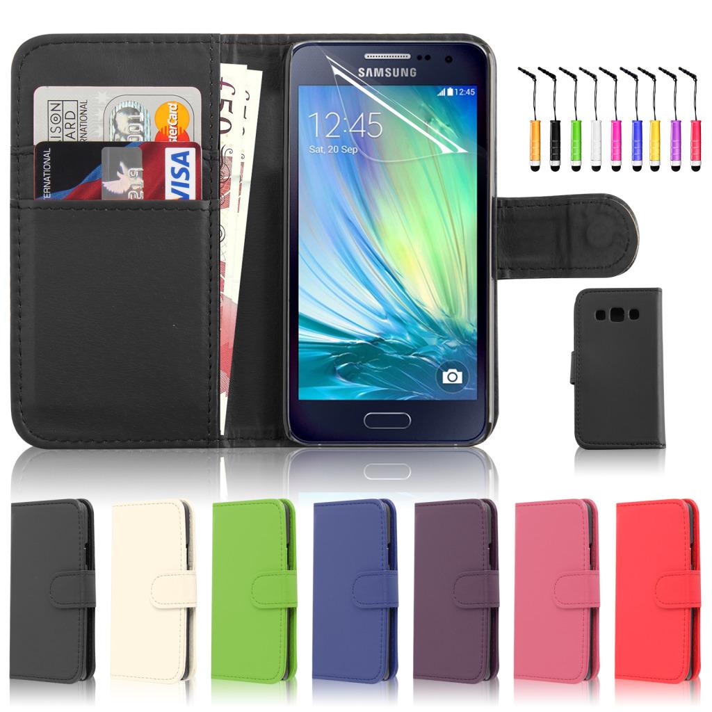 Capa Carteira Samsung Galaxy A5 + Película + Pen